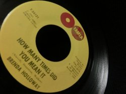 画像2: ブレンダ・ハロウェイUS原盤★BRENDA HOLLOWAY-『How Many Times Did You Mean It』