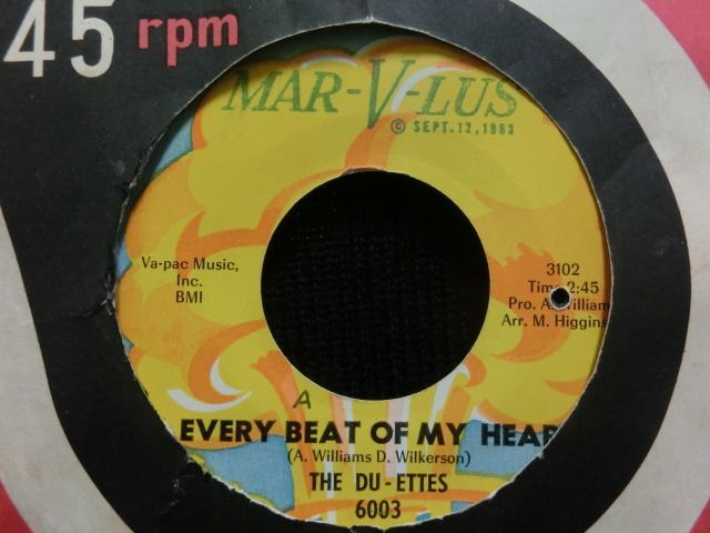 The Du-Ettes Every Beat Of My Heart