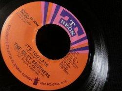 画像2: Carole King名曲カバー/45Ver.★THE ISLEY BROTHERS-『IT'S TOO LATE』